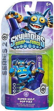 Figurka Skylanders Swap Force - SUPER GULP POP FIZZ (PS3, Xbox 360, WiiU, Wii, 3DS)